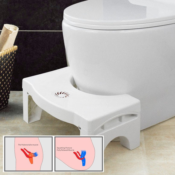 41*25*17.5cm Non-slip Toilet Foot Stool Folding Children's Potty Footstool Professional Toilet Auxiliary Stool Bathroom Supplies