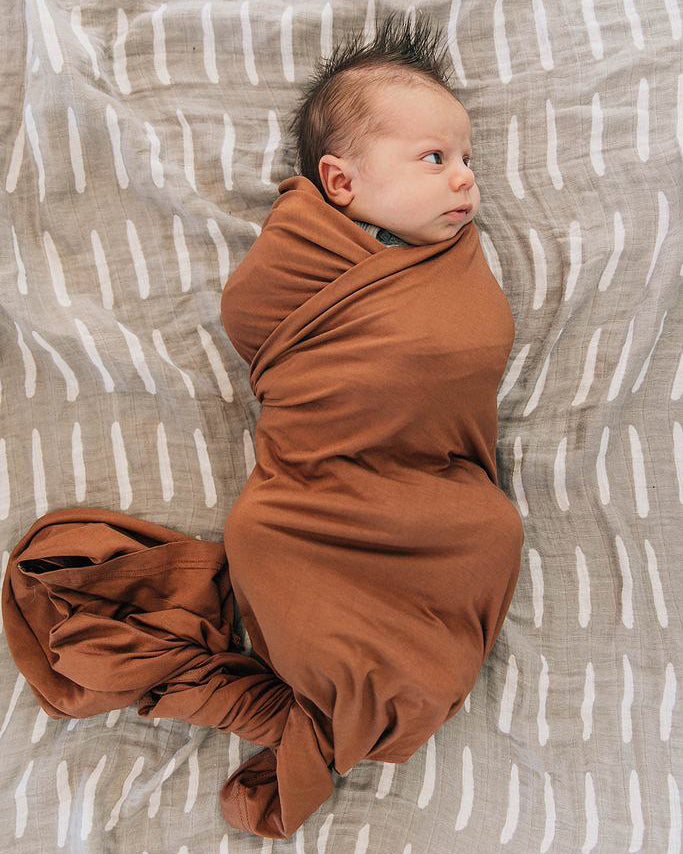 Rust Stretch Swaddle