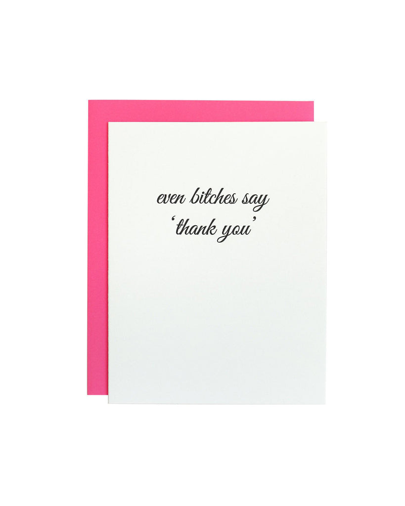 Thank You Greeting Card Magnolia Rifle Boutique