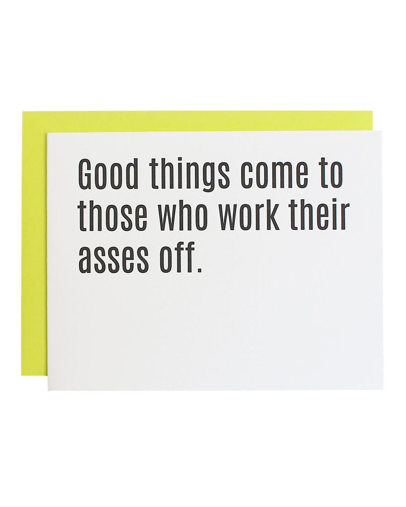 Good Things Come Greeting Card