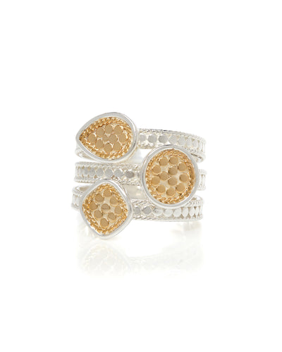Faux Stacking Ring by Anna Beck