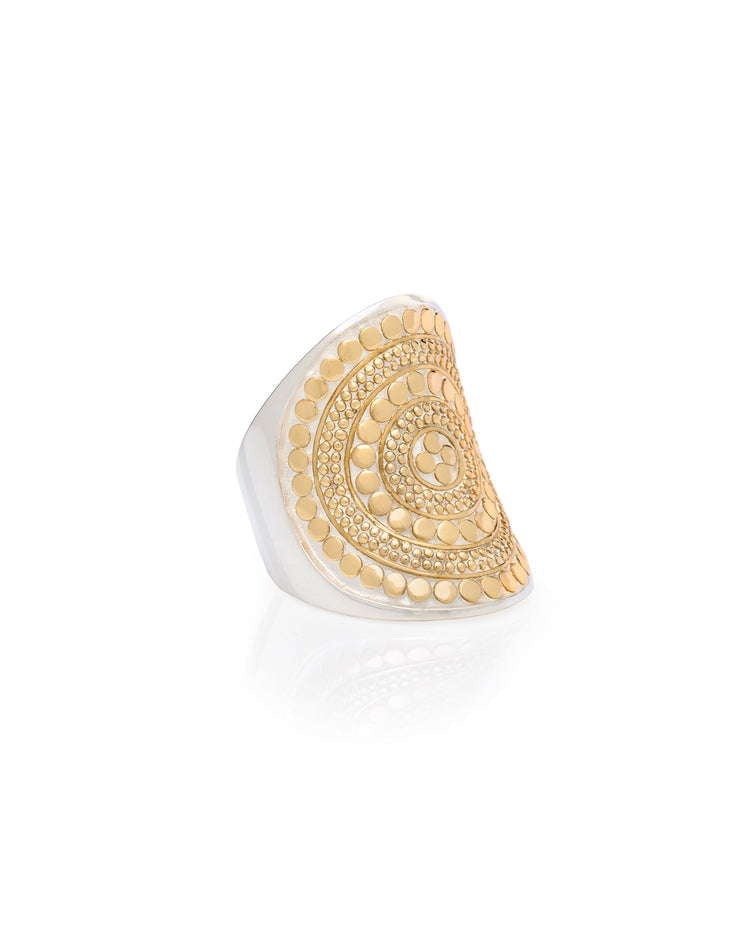 Classic Saddle Ring by Anna Beck - Gold