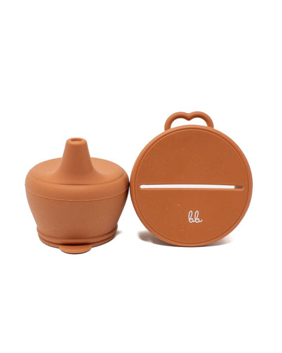 Silicone Universal Snack & Sippy Lid Set - Autumn Glaze