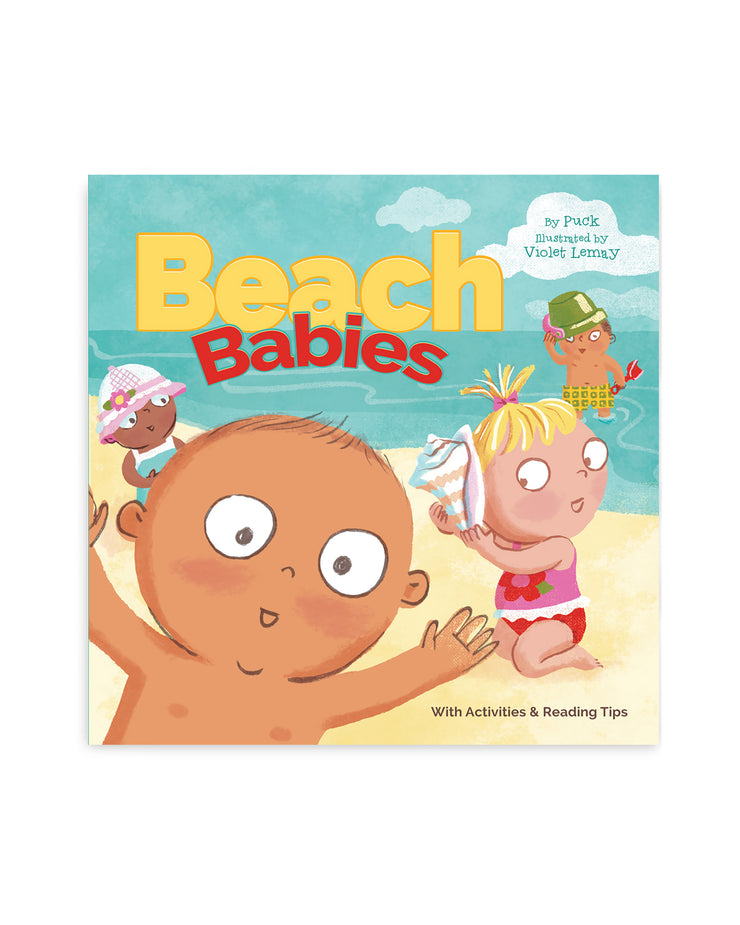 Beach Babies Board Book
