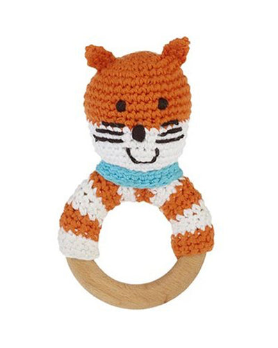 Fox Wooden Teething Ring