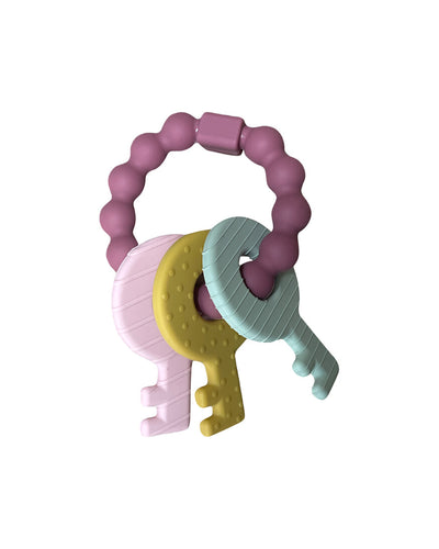 Hello World Hat & Swaddle Set - Mauve Eucalyptus