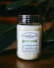 Saltflower 12oz. Mason Jar Soy Candle