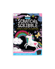 Scratch & Scribble Mini Art Kit - Funtastic Friends