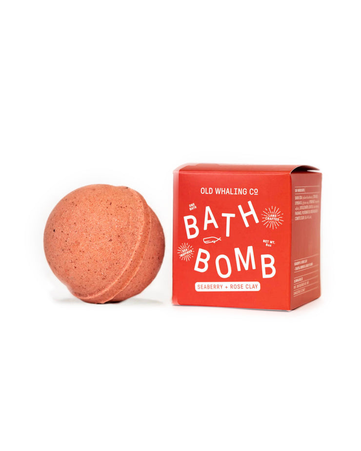 Seaberry & Rose Clay Boxed Big Bath Bomb