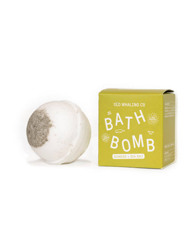 Seaweed & Sea Salt Boxed Big Bath Bomb