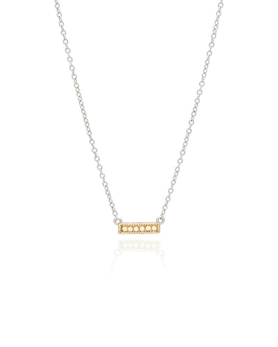 Small Reversible Bar Necklace by Anna Beck