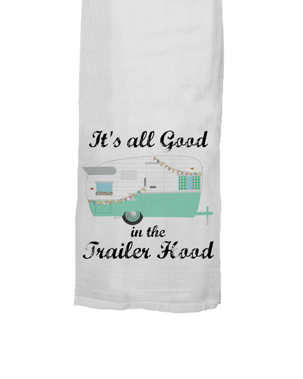 Trailer Hood Tea Towel