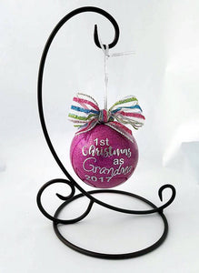 Grandma first Christmas ornament
