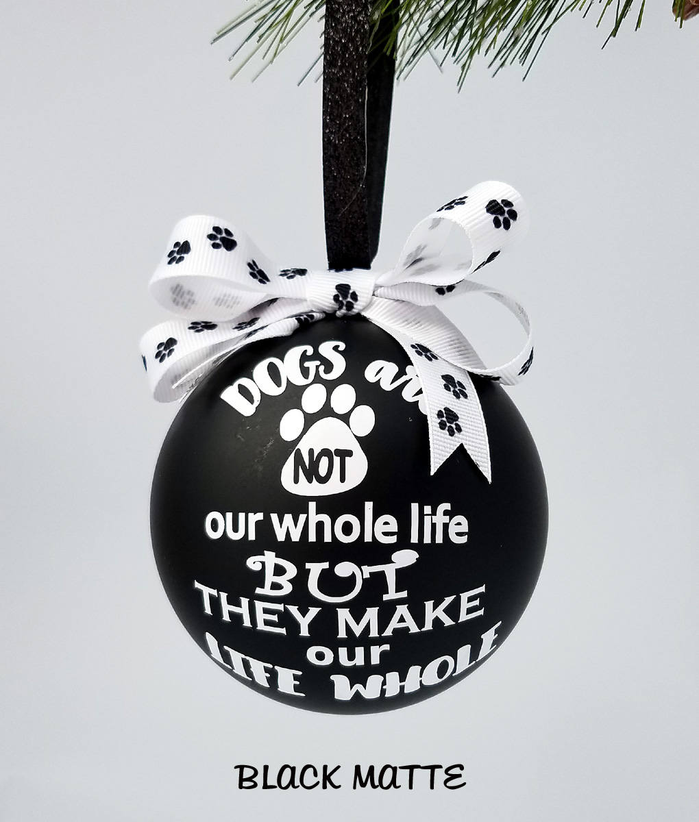 Dog ornament for furbaby parent