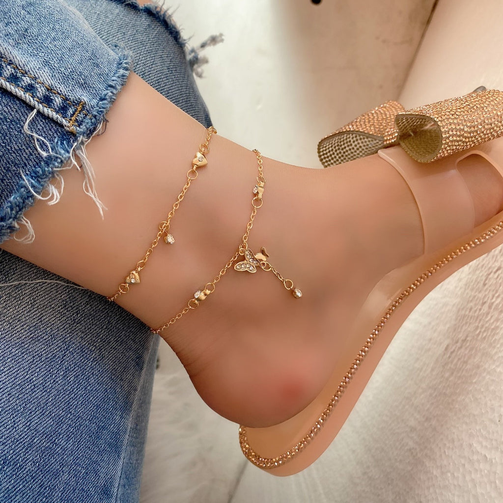BE FREEEE ANKLE - GOLD