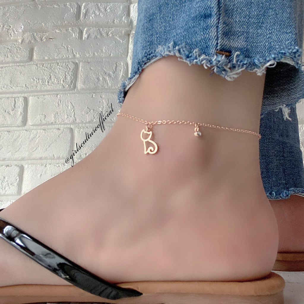 KITTY KAT ANKLE - GOLD