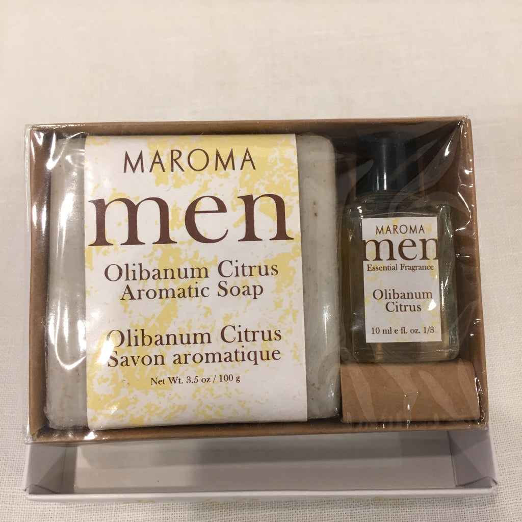 Men's Soap & Fragrance ~ Olibanum Citrus