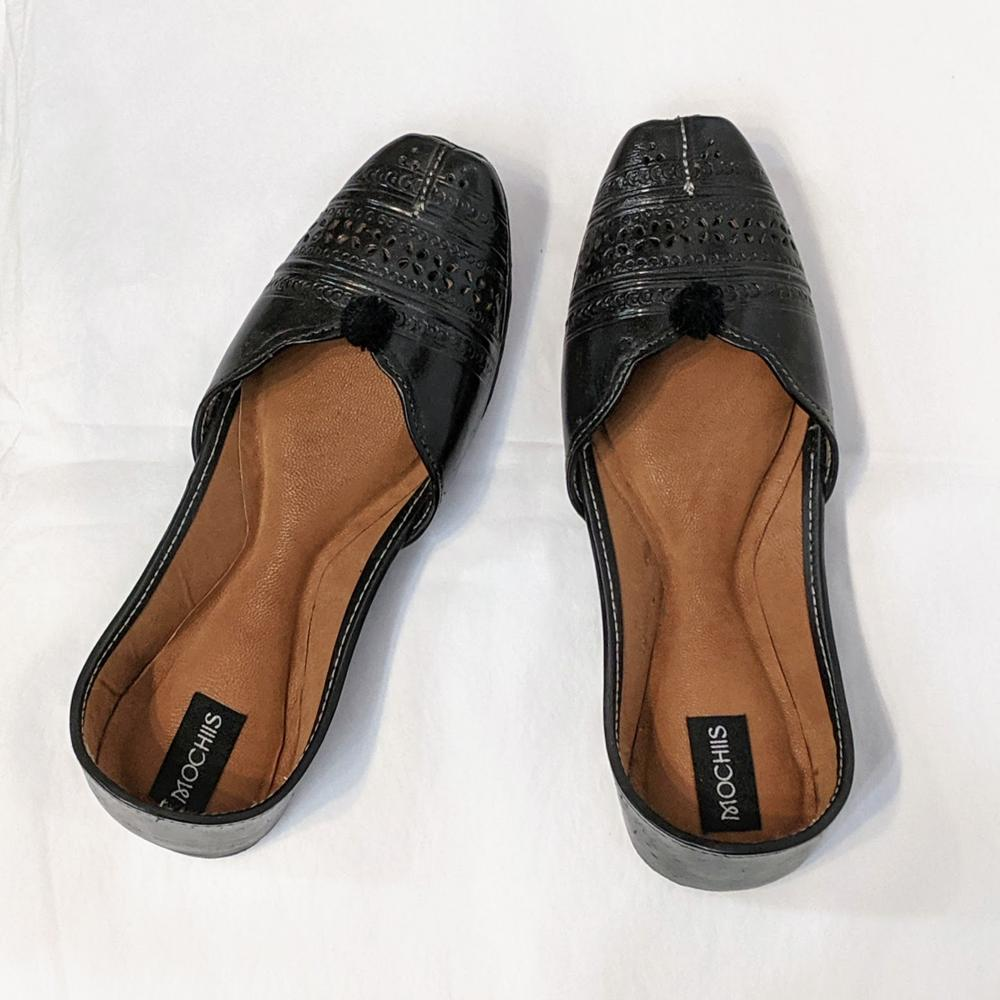 Leather Indian Shoes (Ballet Style Flats)