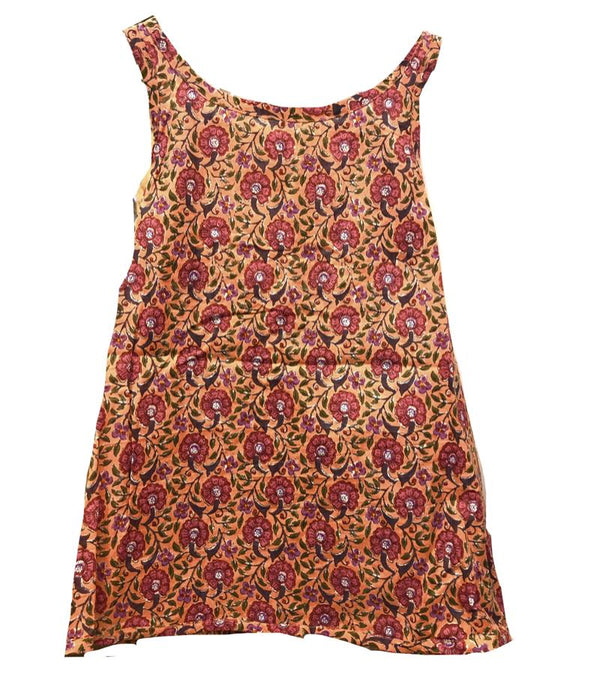 Girls Simple Wrap Dress