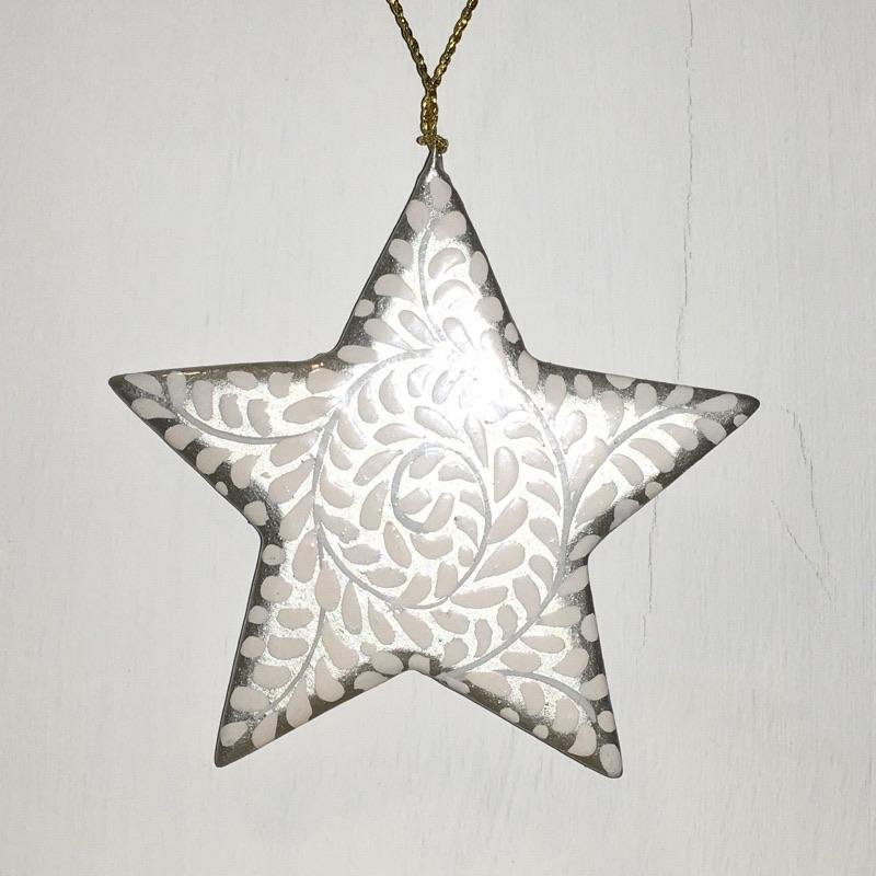 "3"" Star ~ hand painted"