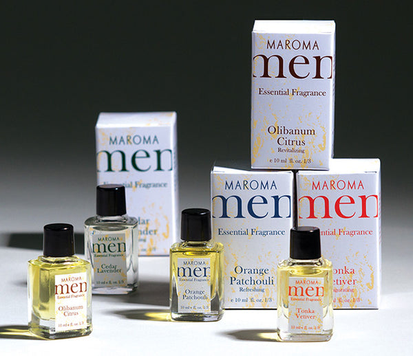 Aromatherapy Concentrated Scented Oils for Mens Fragrance or Diffusers