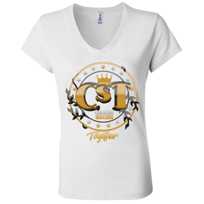 B6005 Ladies' Jersey V-Neck T-Shirt