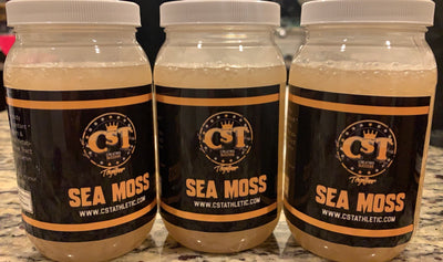 CST Gold  16oz Sea Moss Gel