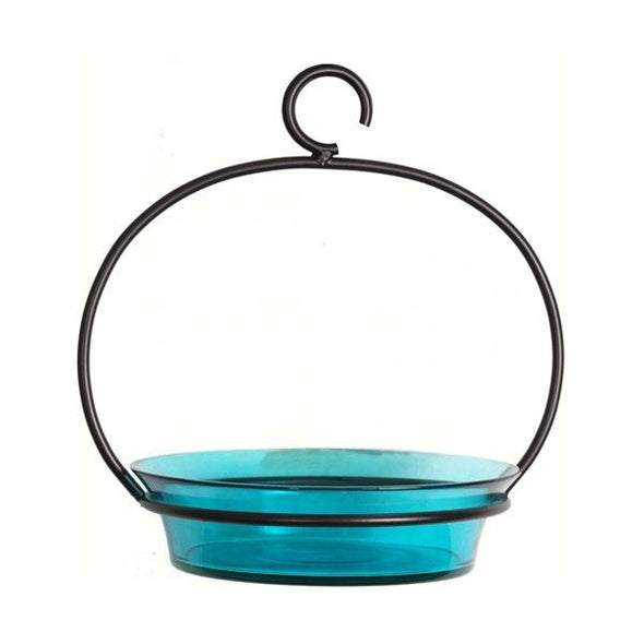 Aqua Cuban Bird Bath - lovethebirds