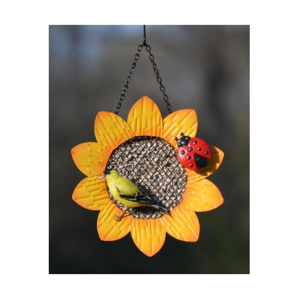 Sunflower Mesh Feeder - lovethebirds