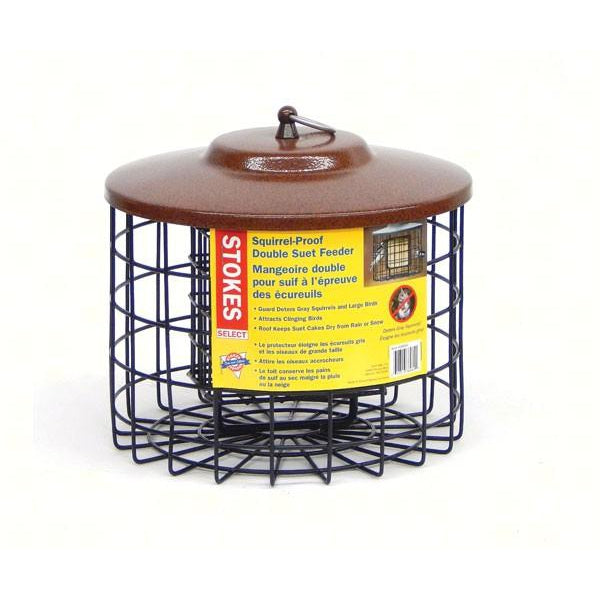 Squirrel Proof Double Suet Feeder - lovethebirds