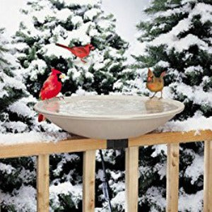 20 in. Heated Bird Bath-lovethebirds