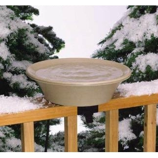 14 inch Heated Bird Bath - lovethebirds