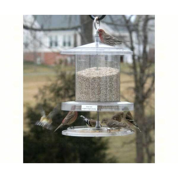 All Weather Feeder 6 Qt. Clear - lovethebirds