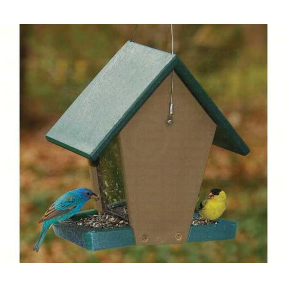 Recycled Plastic Small Hopper Feeder - lovethebirds