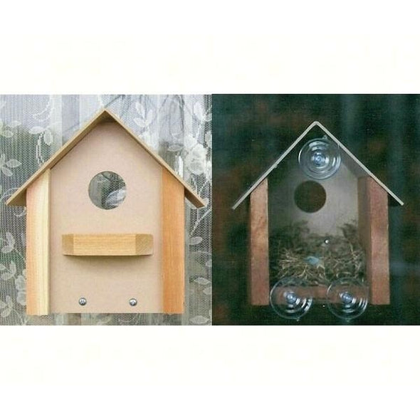 Window Bird House-lovethebirds