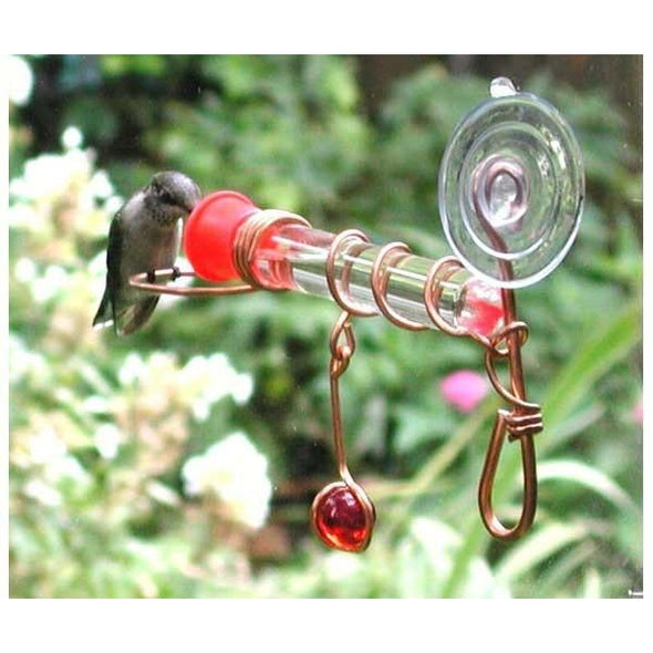 Window Wonder One Tube Feeder-lovethebirds