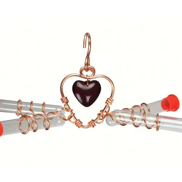 Tweet Heart 4 Tube Feeder-lovethebirds