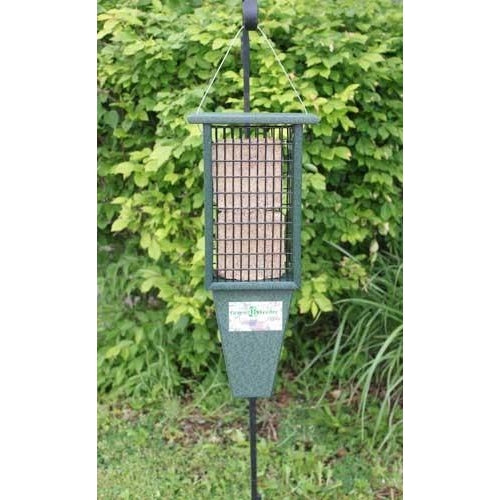 Double Suet Feeder Woodpeckers Love-lovethebirds