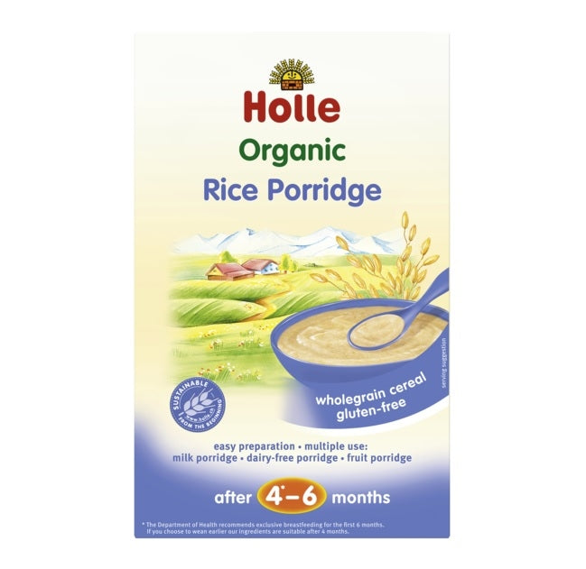 Holle Organic Rice Porridge