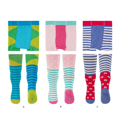 Toddler Tights - Pack of 6
