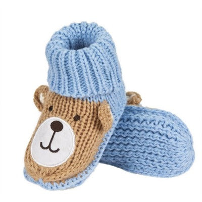 Knitted Crochet Baby Shoes