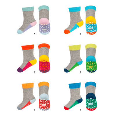 Toddler Thick Winter Socks - Pack of 6