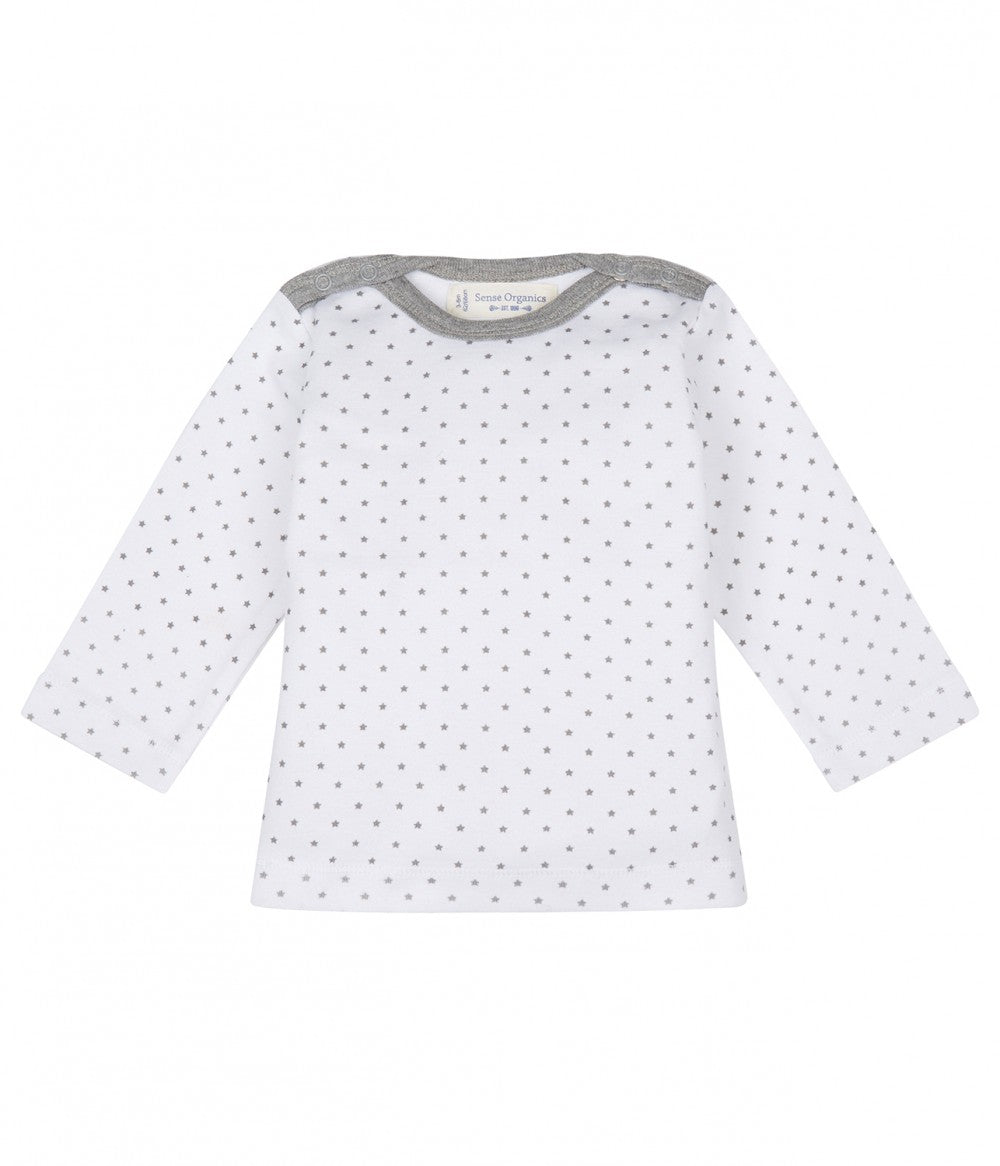 Baby Shirt longsleeves Luna, in Organic Cotton