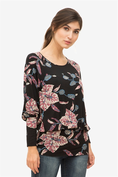 Zally - Patterned nursing blouse