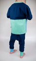 Blue/spearmint - Cardigan