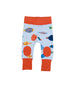 Fish Life - Baby pants with knee patches