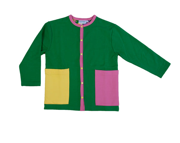 Green/pink/yellow - Cardigan