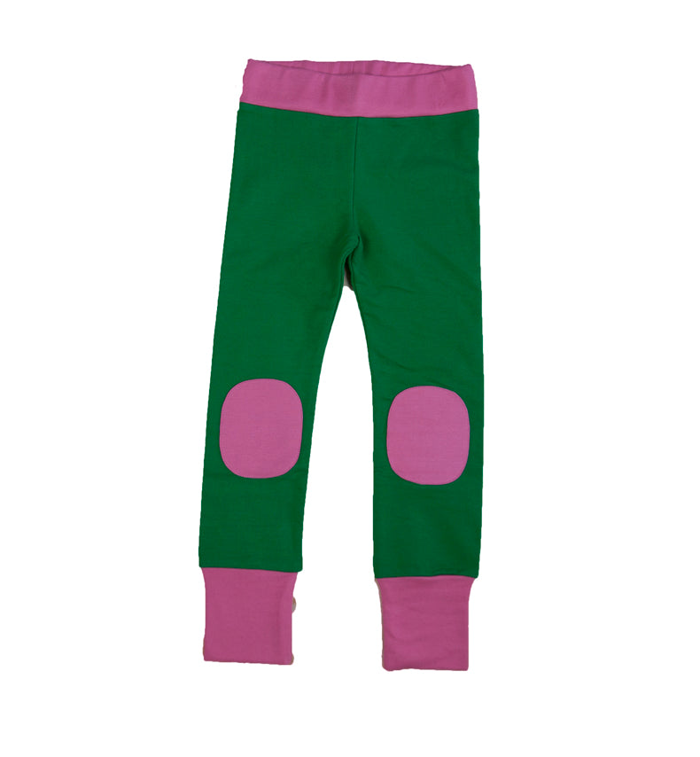 Green/pink - Leggings/Pants