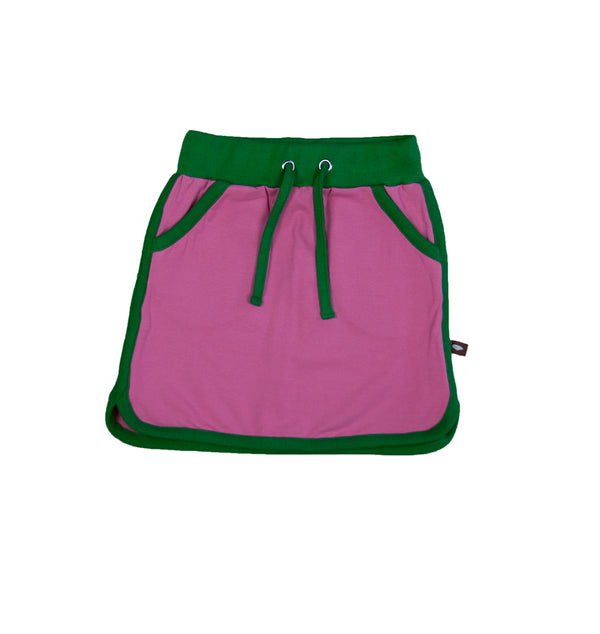 Green/Pink - Retro Running Skirt