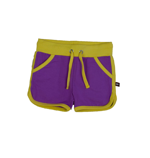 Purple/yellow - Retro Running Shorts